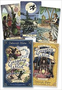 Karty Tarota - Everyday Witch Tarot ( Llewellyn ) - Deborah Blake, Elisabeth Alba
