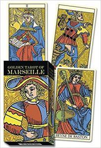 Karty - Golden Tarot of Marseille - Lo scarabeo