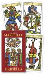 Karty Tarota - MINI Tarot of Marseille - Lo scarabeo
