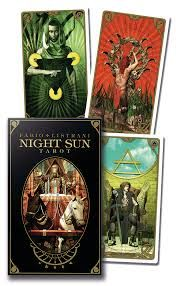 Karty Tarota - Night Sun Tarot - lo scarabeo