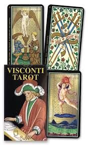 Karty Tarota - MINI Visconti Tarot - Lo Scarabeo