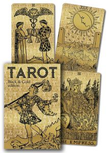 Tarot Black & Gold Edition - Lo scarabeo