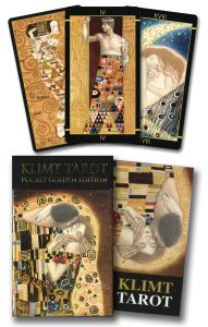 Karty Tarota - Golden Tarot of Klimt Mini - Lo scarabeo