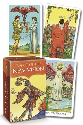 Karty Tarota - Tarot New Vision Mini - Lo scarabeo