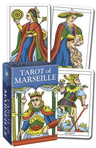 Karty Tarota - Tarot of Marseille Tarot Mini - Lo scarabeo
