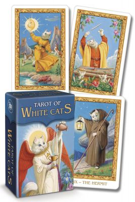 Karty Tarota - Tarot of the White Cats Mini - Lo scarabeo